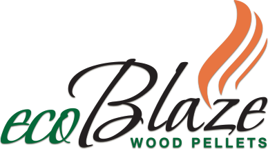 ecoBlaze Wood Pellets logo