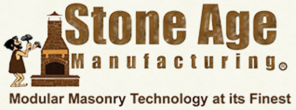 Stone Age Manufacturing logo - Modular Masonry Technology at its Finest