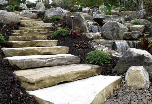 Natural stone products from Tussey Mountain Mulch