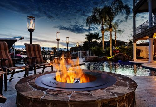 Fire pit options from Tussey Mountain Mulch