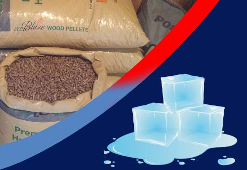 Heating and ice melt products from Tussey Mountain Mulch