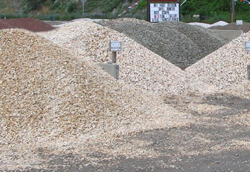 Gravel products from Tussey Mountain Mulch