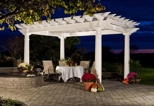 Pergolas and pavilions from Tussey Mountain Mulch