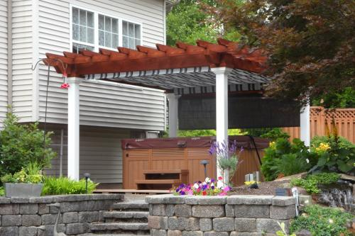 12x14 Wood Artison Pergola Country Structures