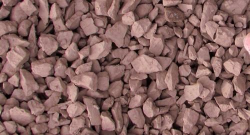 Barn Red decorative gravel